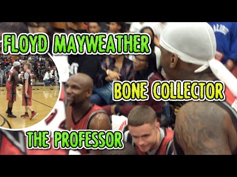 Bone Collector demolishes in Floyd Mayweather TMT Charity Game with Professor