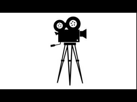 Old movie camera sound effect