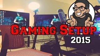 Gaming Setup 2015 Video Tour