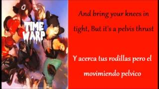 Glee: Time Warp (Lyrics + Español)