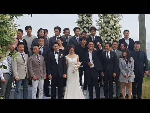 Actor Joo Jin Mo And Wife Hold Star Studded Wedding