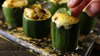 Как приготовить фаршированные бочонки из цукини с мясной начинкой | Простой рецепт