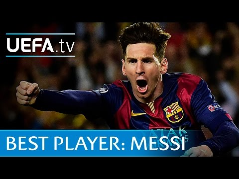 Lionel Messi skills and goals - UEFA Best Player in Europe contender