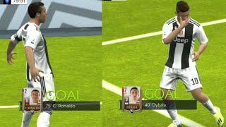 Ronaldo-Dybala-Matuidi Celebration || FIFA Mobile Beta