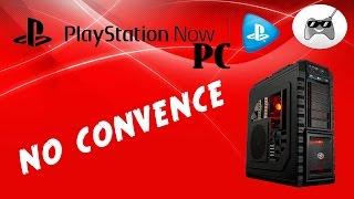 PLAYSTATION NOW en PC no CONVENCE (Opinión)