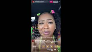 Dymondsflawless says King CID and Nate So ugly be sleeping around with each other on instagram live