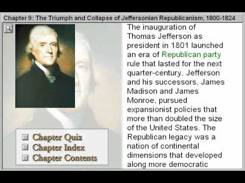 The Triumph and Collapse of Jeffersonian Republicanism (The American Journey Part 9)