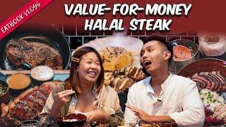 Halal Steak In Singapore - Picanhas'   Eatbook Vlogs   EP 85
