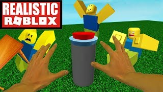 Realistic Roblox - DO NOT PRESS THE BIG RED BUTTON IN ROBLOX | ROBLOX THE NORMAL BUTTON (PT 2)