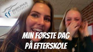 FØRSTE DAG PÅ EFTERSKOLE! fremmed mand vil med i vloggen? //Anna Jørgensen