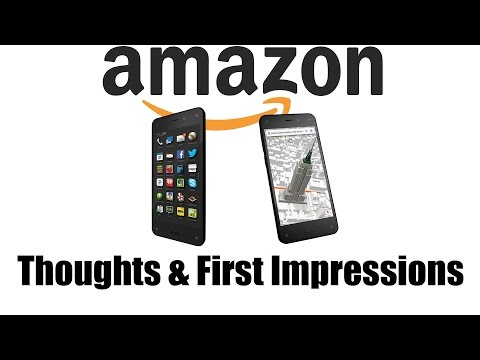 Amazon Fire Phone First Impressions