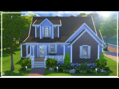 WATERSIDE COTTAGE // The Sims 4: Speed Build