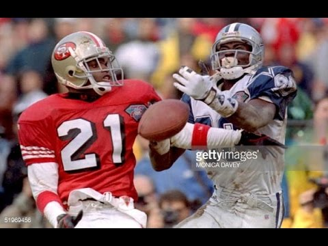 finest selection a2aeb 893f2 Deion Sanders – San Francisco 49ers Highlights (pt. 2)