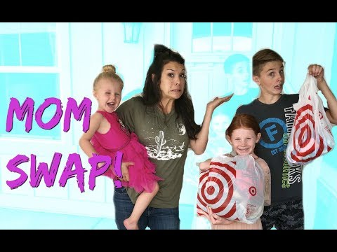 MOM SWAP! Back to School Shopping for April & Davey KIDS!