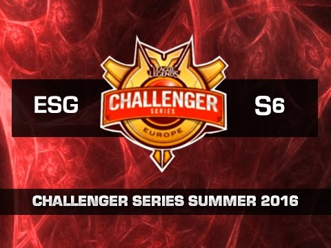 Euronics Gaming vs SZEF+6 - Día 3 - Challenger Series EU Summer 2016 - Español