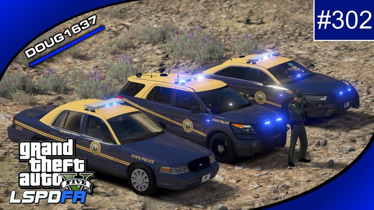 GTAV-LSPDFR Day-302, West Virginia State Police, Live Stream