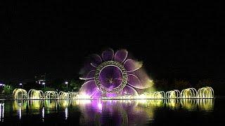 Лучшее видео фонтана Солнце (Есиль), Астана
