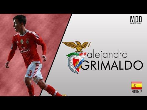 Alejandro Grimaldo | Benfica | Goals, Skills, Assists | 2016/17 - HD