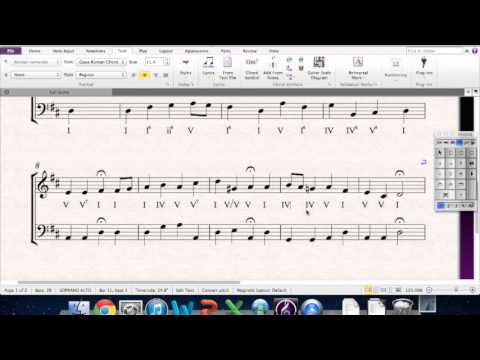 Harmonizing a Melody - AP Example