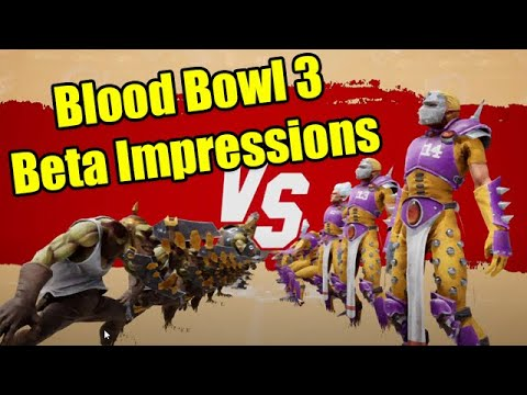 Blood Bowl 3 Beta First Impressions (The Good and the Bad)