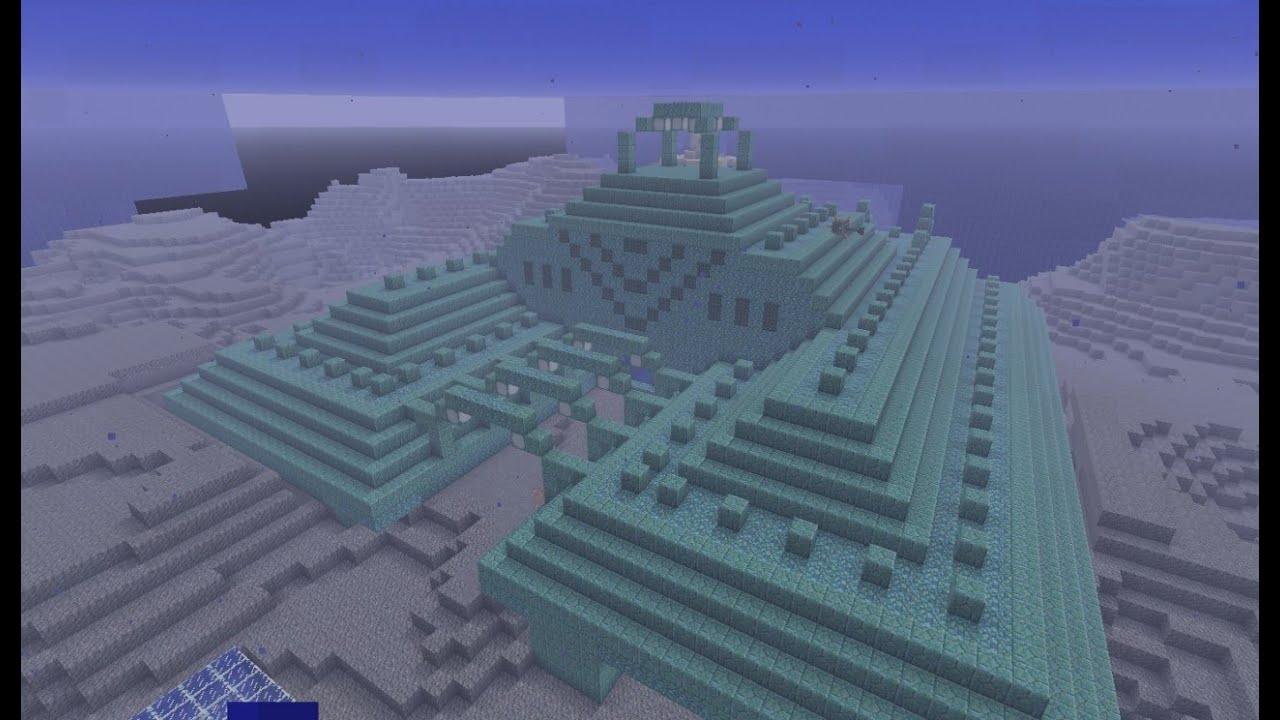 Underwater temple finder minecraft