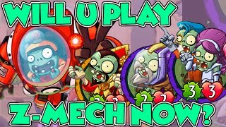 Plants vs Zombies Heroes - Z-Mech Legendary Deck Quasar Wizard Binary Stars & Intergalactic Warlord