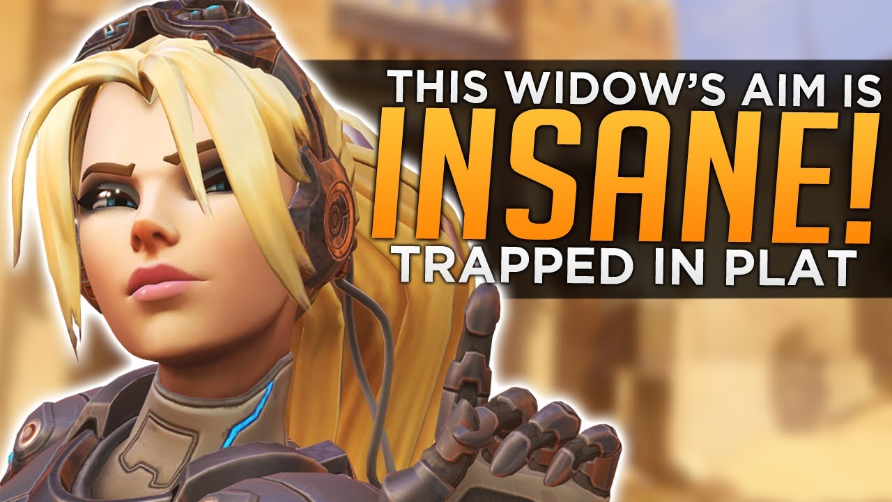 Overwatch: This Widow's Aim is INSANE! ...But Stuck in Plat thumbnail