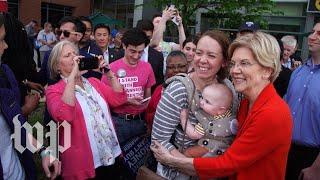 Elizabeth Warren tallies 20,000 selfies with her 2020 supporters