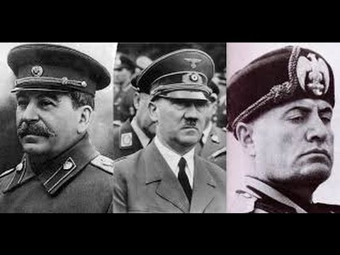 leadership style stalin mussolini trump