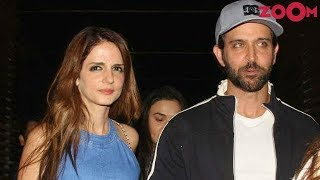 Hrithik Roshan SPOTTED With Ex-Wife Sussanne Khan & Kids   Bollywood News
