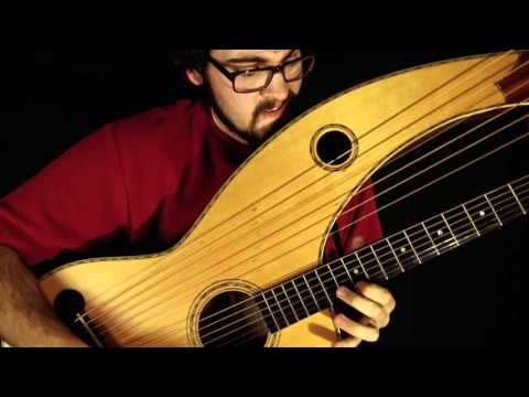 Travis Bowman - Hotel California (Eagles) - Harp Guitar