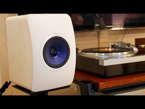 KEF LS50 Speakers Sound Demo, Rock