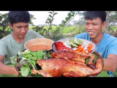 Gà Nướng Chao Ngoài Đồng Siêu Ngon | VTNam Vlog #11