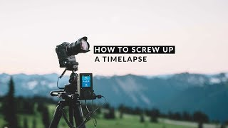 How to SCREW UP a time-lapse | Move with Rhino - Ep24