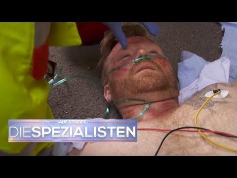 Verbrennung nach Pannenhilfe  - War es seine Zigarette?   Auf Streife - Die Spezialisten   SAT.1 TV