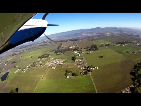 Watch us fly into Napa County Airport