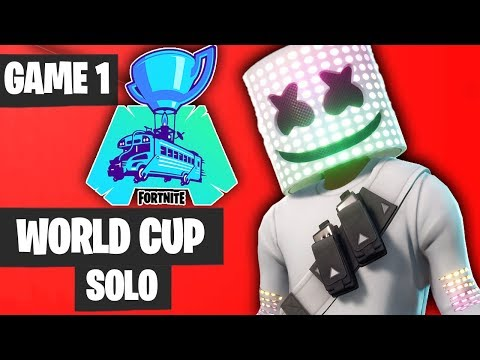 Fortnite World Cup SOLO Game 1 Highlights [Fortnite World Cup Highlights]