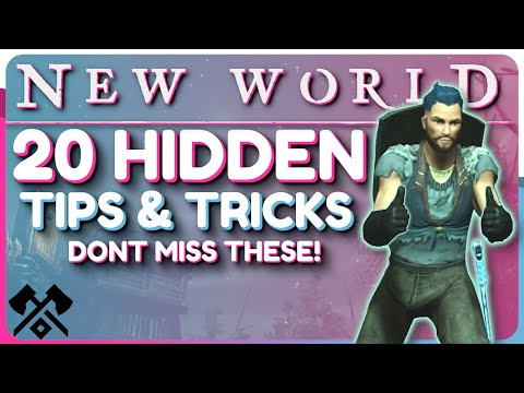 New World: 20+ HIDDEN Tips And Tricks – SECRETS To ENHANCE Your GAMEPLAY!