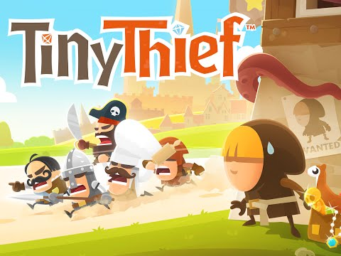 Tiny Thief. Геймплей и первый взгляд на игру, андроид.