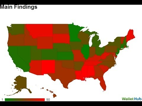 Republican States Most Dependent on Government