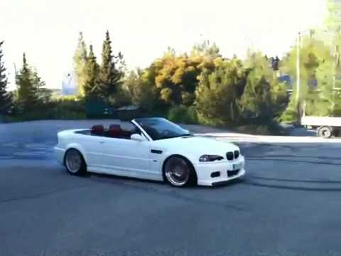 bmw m3 e46 cabrio ind vidual burnout youtube. Black Bedroom Furniture Sets. Home Design Ideas