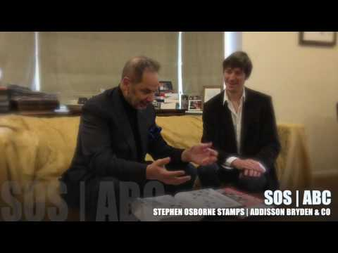 Stephen Osborne Stamps interviews Joseph Addisson
