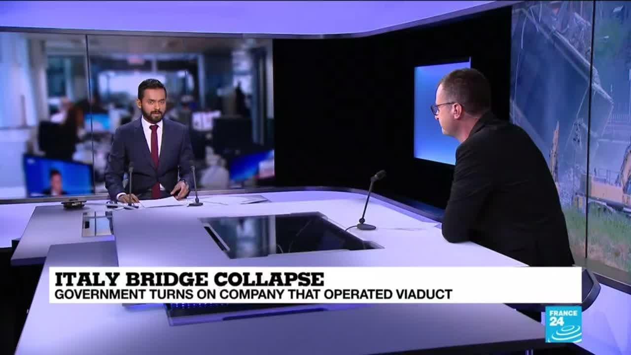 فرانس 24:The economic impact of the Italian bridge collapse