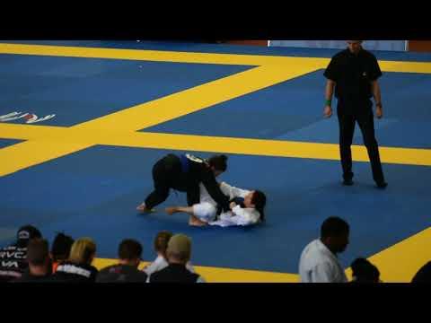 Jill Pierce IBJJF DC Open Semi Finals blue belt