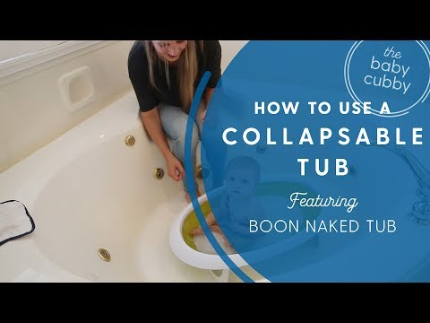 Newborn Bath: Boon Naked Tub