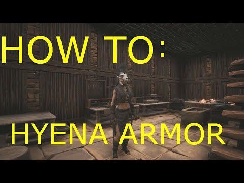 Conan Exiles How to Get Hyena Armor