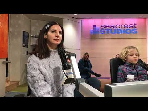 Live in Seacrest Studios with Lana Del Rey in Monroe Carell Jr  Children's Hospital
