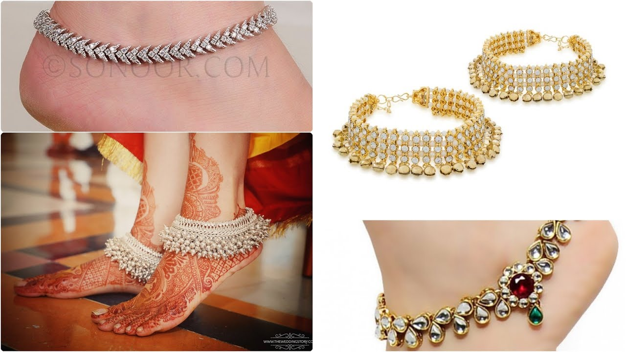 Best anklet and payal designs for girls/latest jewellery fashion ...