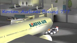 ROBLOX - Vol Boeing 777 de Korean Airlines