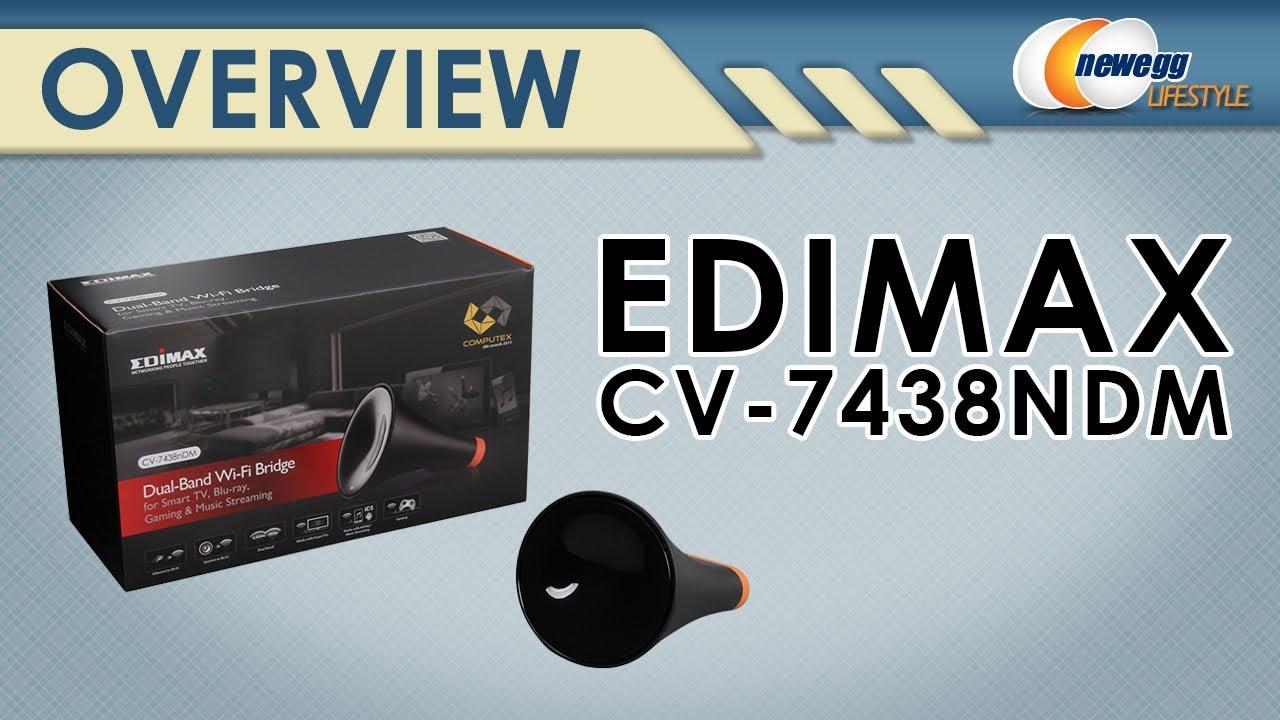 Edimax CV-7438nDM Wi-Fi Bridge Drivers for Windows XP